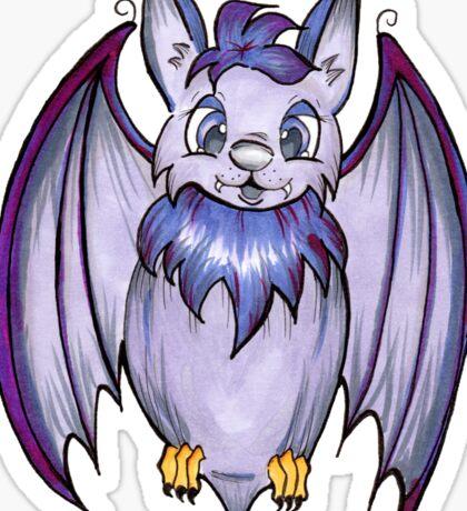 Halloween Bat - Original Marker Illustration Sticker