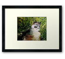 Hidden Stream Framed Print