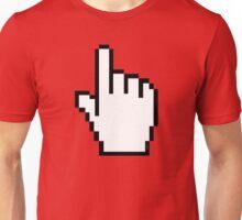 Index Finger Link Click Cursor Unisex T-Shirt