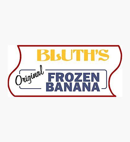 Frozen Banana Stand - Arrested Development Photographic Print