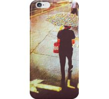 Rain at the crossing iPhone Case/Skin