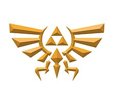 Crest of Hyrule Photographic Print