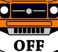 sticker 4x4 offroad logo car color Sticker