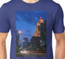 Downtown Milwaukee at Dusk Unisex T-Shirt