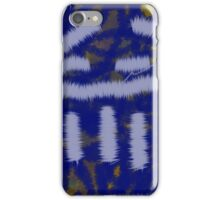 Repeating pattern art iPhone Case/Skin