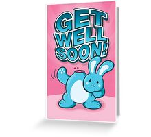 The Bunny Knows How You Feel Greeting Card