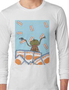Clarence raining - The Big Lez Show Long Sleeve T-Shirt