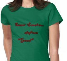 Dear Santa... Womens Fitted T-Shirt