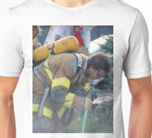 A Much Needed Break for a Firefighter Unisex T-Shirt
