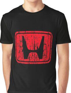 Honda Grunge Graphic T-Shirt