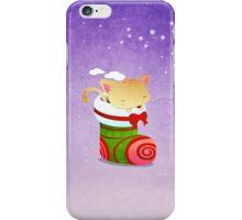 Xmas Christmas Stocking iPhone Case/Skin