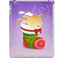 Xmas Christmas Stocking iPad Case/Skin