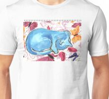 Cat Dreaming Unisex T-Shirt