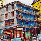 The Blue House, Wanchai by robigeehk