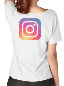 New Instagram LOGO Women's Relaxed Fit T-Shirt