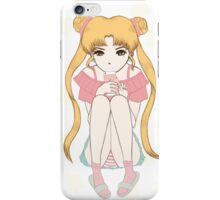 bored sailor moon iPhone Case/Skin
