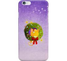 Xmas Christmas Wreath iPhone Case/Skin