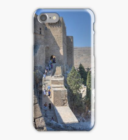 Stairs to Heaven, Lindos iPhone Case/Skin
