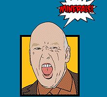 Hank Schrader Pop Art - Minerals by WiseOut