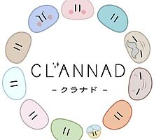 CLANNAD dango family by NewleafNolife