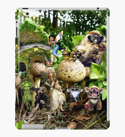 BUSH TROLLS iPad Case/Skin