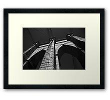 Brooklyn Bridge - New York City Framed Print