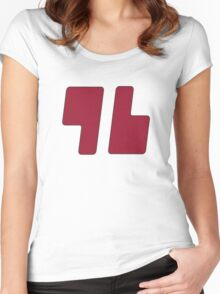 Trainer Red Shirt Women's Fitted Scoop T-Shirt