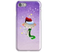 Xmas Kitty  iPhone Case/Skin