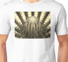 Golden Fractal #2 Unisex T-Shirt