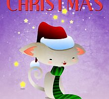 Xmas Kitty  by Paulo Capdeville