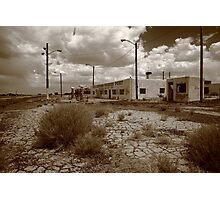 Route 66 - Twin Arrows Trading Post Photographic Print