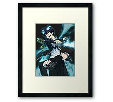 Blue Exorcist-Rin & Yukio Framed Print