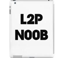 Learn to play N00b iPad Case/Skin