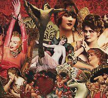 Original Retro Collage by groucho4ever