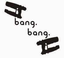 Bang. Bang. One Piece - Short Sleeve
