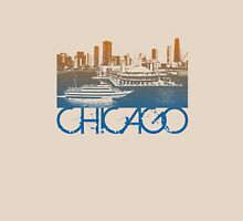 Chicago Skyline T-shirt Design Unisex T-Shirt