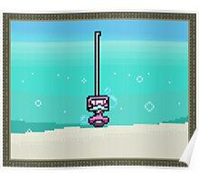 Snorkelbot + Ocean Poster