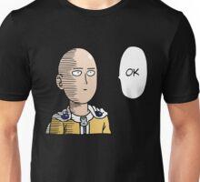 One Punch Man / OPM - Saitama Ok Unisex T-Shirt