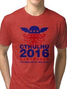 Vote Cthulhu 2016 Tri-blend T-Shirt