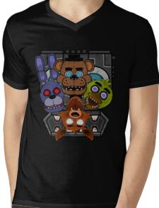 Five Nights at Freddy's Mens V-Neck T-Shirt