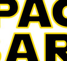 Space Bars Sticker