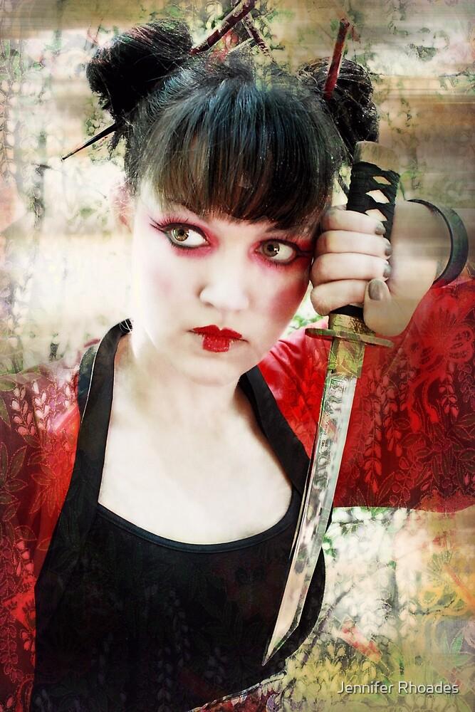 Geisha Samurai by Jennifer Rhoades