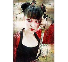 Geisha Samurai Photographic Print