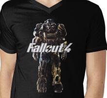 Power Armor Suit; hand-drawn Mens V-Neck T-Shirt