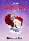 Xmas Santa's Chimney by Paulo Capdeville