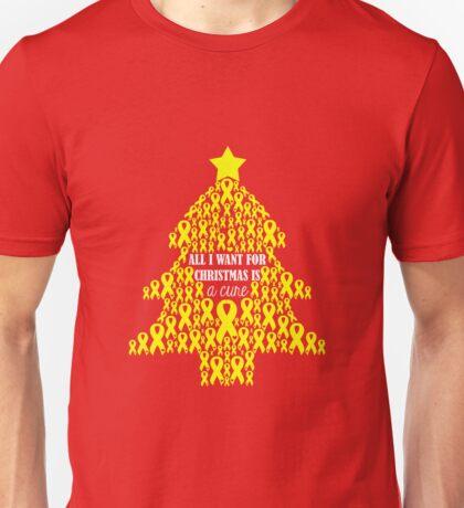 Christmas Cure - Yellow Unisex T-Shirt