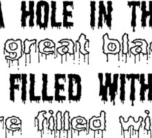Sweeney Todd Quote Sticker