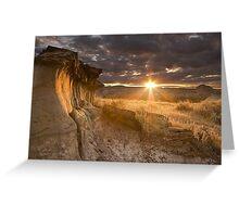 High Resolution sunrise Greeting Card