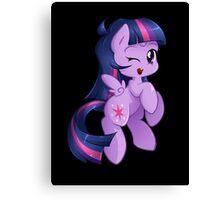 Chibi Twilight Sparkle Canvas Print