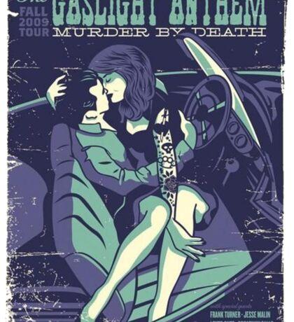 Gaslight Anthem and Murder by Death tour tee Sticker
